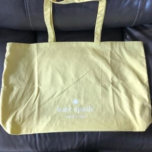 Kate Spade Cotton Reusable Shopper Tote NWOT